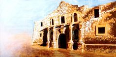 Remember (The Alamo), an art print by Peyton Aufill All Art, Art Prints, Stretched Canvas, Canvases, Gallery, Texas, Painting, Fine Art, Facebook