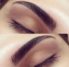 Naturally full brows