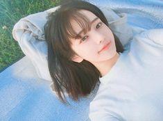 Image about girl in __ ulzzang __ by vivi on We Heart It Pelo Ulzzang, Ulzzang Korean Girl, Korean Beauty, Asian Beauty, Hwa Min, Uzzlang Girl, Girl Short Hair, Cute Korean, Korean Image