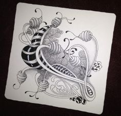 http://tangledupinart.blogspot.com Tangle Art, Tangle Doodle, Zen Doodle, Doodle Art, Zentangle Drawings, Doodles Zentangles, Doodle Drawings, Doodle Patterns, Zentangle Patterns