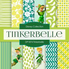 Tinkerbelle Digital Paper DP1874