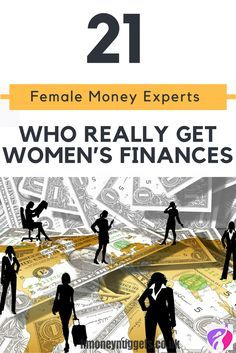 Do you lie awake at night worrying about money? Do you want to put together a financial plan but don't know where to start? Or do you have a plan but struggle to follow it? We've put together a list of some of the leading women money experts to help achieve your financial goals.