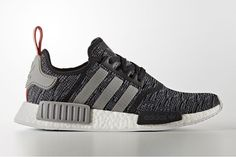 The Three Stripes add another glitched-out iteration of the NMD_R1. The 'Grey Glitch Pack' sees two new Primeknit variations join the NMD family.