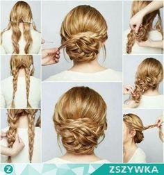 Imagen vía We Heart It https://weheartit.com/entry/158245670 #blond #bun #diy #fashion #hair #hairstyle #messybun