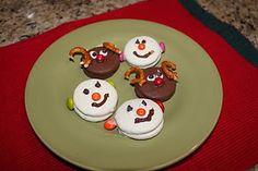 Love the Oreo Snowmen!