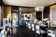 Black Wall Paint Inspiration Photos | Architectural Digest