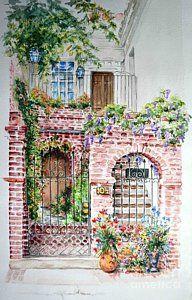 10 1/2 Charleston   Art Print