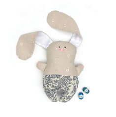 Stuffed Easter Bunny. Rabbit, child friendly toy. Bunny for kids and home decor. | Cherry Garden Workshop | madeit.com.au