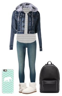 """""""Untitled #67"""" by kykydancer13 on Polyvore featuring J Brand, maurices, LE3NO, UGG Australia, Casetify and PB 0110"""