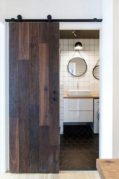 Le motif carreaux de ciment dans l\'intérieur - Archzine.fr | salle ...
