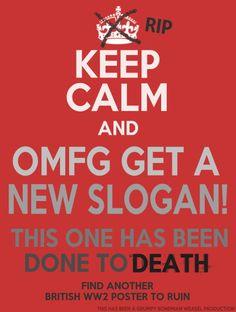 Keep Calm and- OMFG