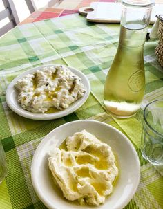 Greek dips from the island of Tinos