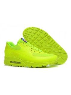 new product 65317 eef38 Nike Air Max 90 American Flag Dam Herr Fluorescent Grön SE814797