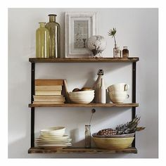 West Elm L-Beam Shelf, Short, Burnt Wax by West Elm $249