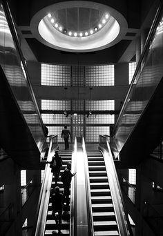 Sortie de métro Madeleine