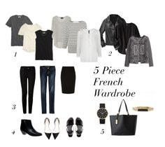 5 piece French Wardrobe
