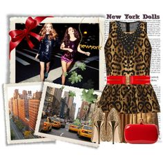 New York Dolls, created by fashionistatrendy on Polyvore