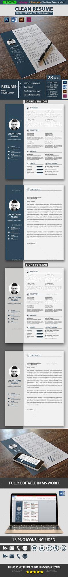 The 81 best Resume images on Pinterest Creative resume, Resume
