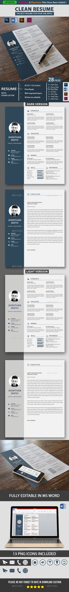 Resume Cv template, Template and Business - net resume