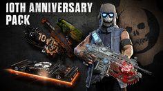 Tenth Anniversary Gears of War Outsider Gary Carmine