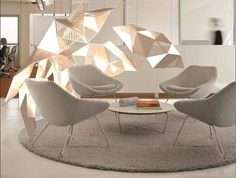 """""""Light Nest"""" is a lighting solution using ColorCore laminates winner of the latest Formica Formations competition http://ift.tt/2f7ohmP #lighting #design"""