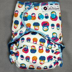 Cloth Diaper Medium Long Allin2 AI2 PUL  by by LittleBoppers, $25.00
