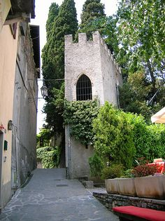 Varenna, The castle, Varenna, Province of Lecco , Lombardy region Italy