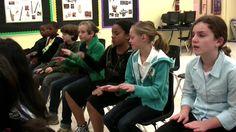 Kalimba 5th Grade Lesson Part 1 African Music  Lesson using lummi sticks
