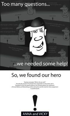 ANNAandVICKY #facebook #campaign, last post tonight at 9.00pm on www.facebook.com/ANNAandVICKY #design by ANNAandVICKY