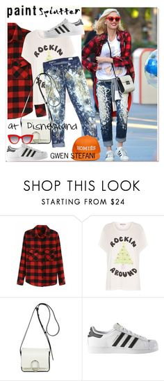 """Make a Splash With Paint Splatters"" by paculi ❤ liked on Polyvore featuring Wildfox, 3.1 Phillip Lim and adidas"