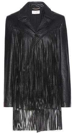 Saint Laurent Fringed Leather Jacket - $4,950.00