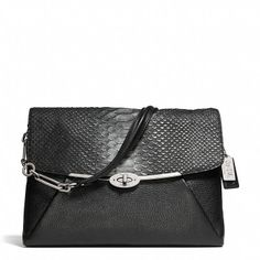 Coach  MADISON SHOULDER FLAP IN GLITTER PYTHON <-- wishlist item in another colour...
