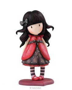 """Ladybird, Gorjuss 6"""" Figurine from Santoro"""