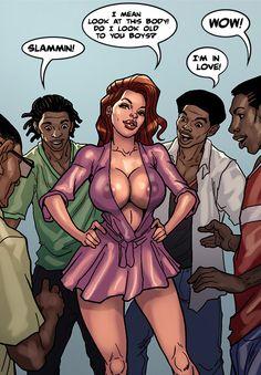 Look at this body / Slutty Moms / Interracial comics