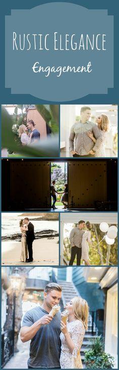 Rustic Elegance Engagement | Fun & Unique Photography for Couples.