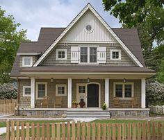 Detail around windows ~ Linden Hills Cottage - Rehkamp Larson Architects