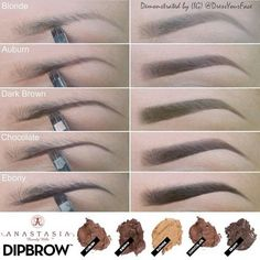 This is a beautiful eyebrow tutorial, this just shows how good some women/men are at make up! Love Makeup, Beauty Makeup, Makeup Looks, Hair Beauty, Makeup Kit, Makeup Guide, Eyebrow Makeup, Skin Makeup, Eyebrow Pencil