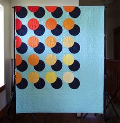 I can't believe we're half way through the year and I've finished 18 quilts so far! Seven minis, two quilts from patterns, two secrete sew projects and seven original designs throw size quilts includi