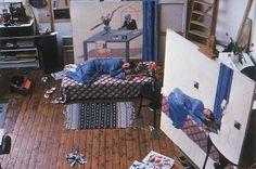 David Hockney's Studio