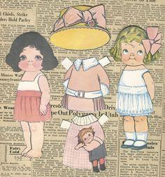 cute paper dolls