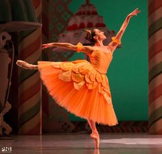 Pacific Northwest Ballet's  Leta Biasucci in The Nutcracker