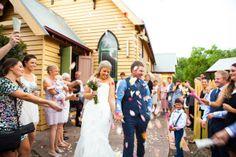 Krystal & Nathan's wedding at Cobbing Farm in Grovedale.