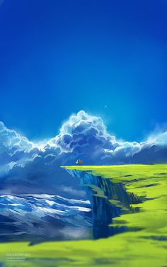 My world of colours world of color, anime scenery, my world, dreams, concep Fantasy Landscape, Landscape Art, Fantasy Art, Scenery Wallpaper, Fantasy Places, Environment Concept Art, Anime Scenery, Environmental Art, World Of Color