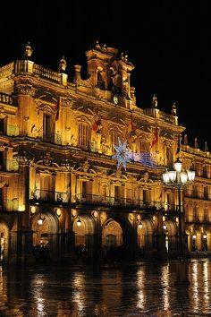 Salamanca, Spain, The oldest university in spain and one of the oldest and greatest universities