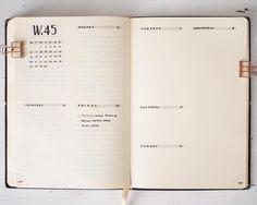 Bullet journal weekly layout, simple bullet journal layout,mildliner. @cindywildflowers