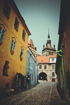 the citadel of Sighisoara | Romania. www.romaniasfriends.com