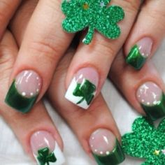 Saint Patrick's Day Nails