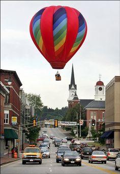 The annual Great Falls Balloon Festival in Lewiston/Auburn maine