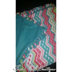 Tie Blanket, Heart Tie Blanket, Warm Blanket, Colorful Tie Blanket, Plush Blanket, Plush Throw Blanket by SewPlushBoutique on Etsy