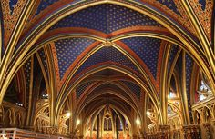 Sainte Chapelle, Paris, France, (   King Louis could walk directly from his palace into the Sainte-Chapelle. The king died of the plague on a crusade, was later canonized by the Pope, and is now known asSaint Louis.)  Churches and Cathedrals Of The World - Page 43 - SkyscraperCity
